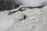 на леднике Челипси