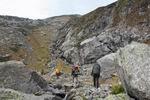 подъём к леднику Челипси