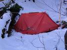 палатка без дуг