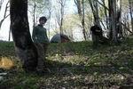 лагерь в седловинке