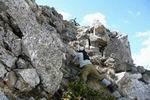 преодоление скальной ступеньки