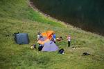 лагерь у озера Мал. Бамбак