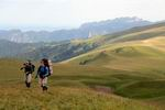 на фоне горы Большой Тхач