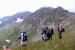 На фоне горы Джуга