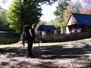 домик заповедника в верхнем Бабук-Ауле