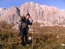 на фоне горы Фишт
