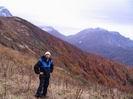 на фоне горы Оштен