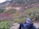 на тропе возле вершины Бзыш