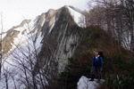 на фоне горы Амуко