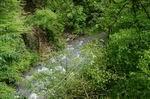 река Сочи, вид с обрывов хребта Шуха