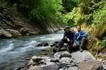 у реки Ушхо