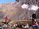 лагерь под перевалом Строитель