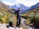 на фоне горы Цахвоа
