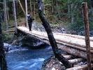 новый мост через реку Малая Лаба
