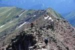 движение к вершине Тыбга