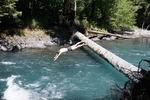 купание в реке Киша