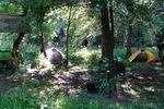 палатки в лаг. Сенном